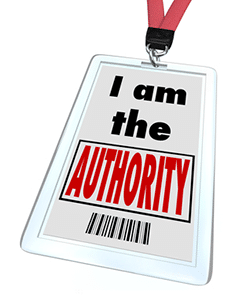 authority badge